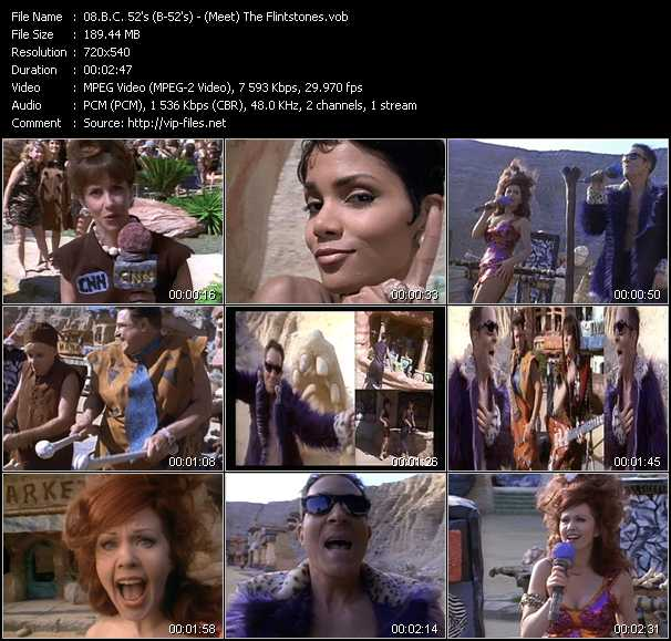 B.C. 52's (B-52's) video screenshot