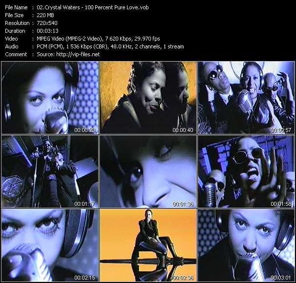 Crystal Waters video screenshot