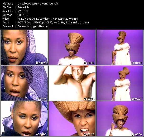Juliet Roberts video screenshot