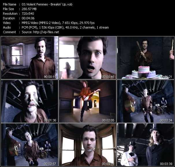 Violent Femmes video screenshot