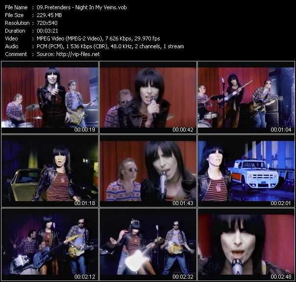 Pretenders video screenshot