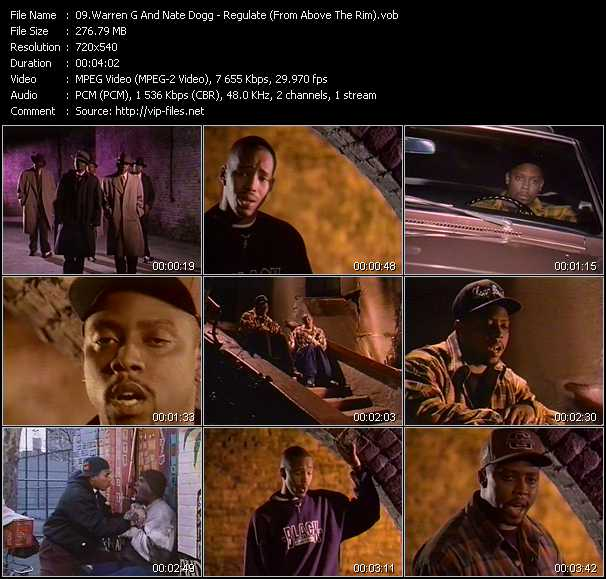 Warren G And Nate Dogg video screenshot