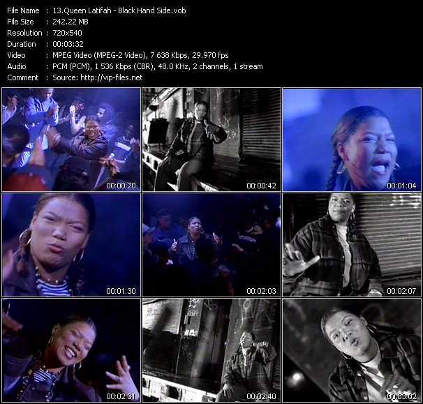 Queen Latifah video screenshot