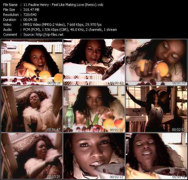 Pauline Henry video screenshot