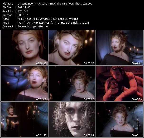 Jane Siberry video screenshot