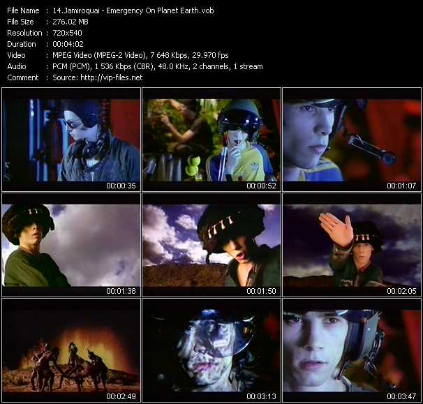 Jamiroquai video screenshot