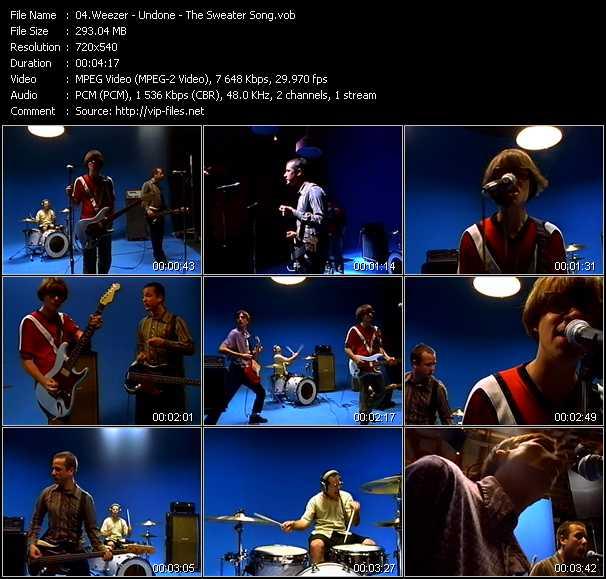 Weezer video screenshot