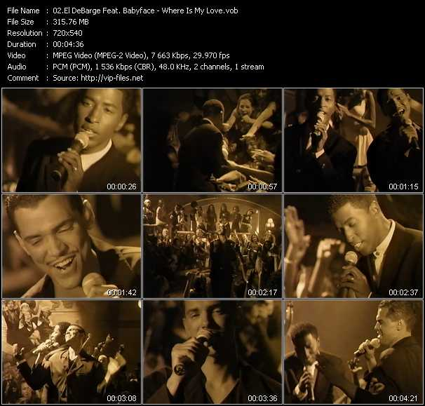 El DeBarge Feat. Babyface video screenshot