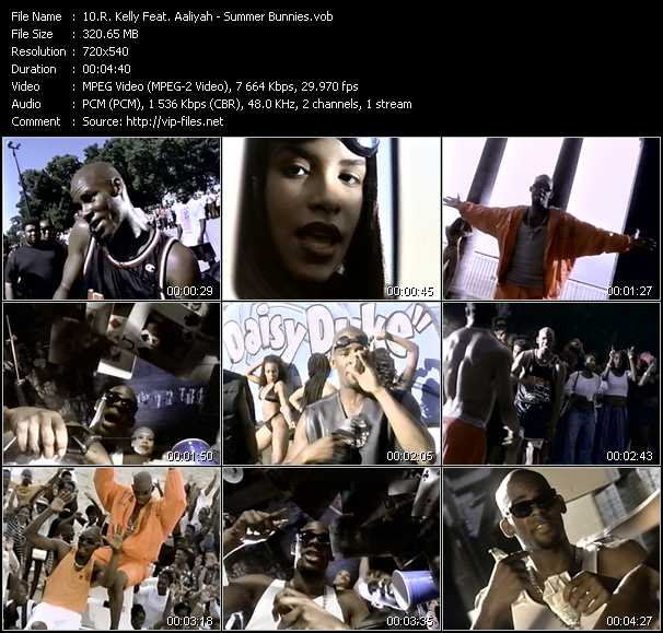 R. Kelly Feat. Aaliyah video screenshot