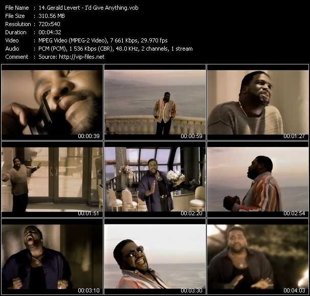 Gerald Levert video screenshot