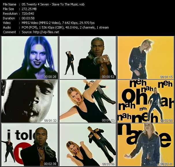Twenty 4 Seven video screenshot