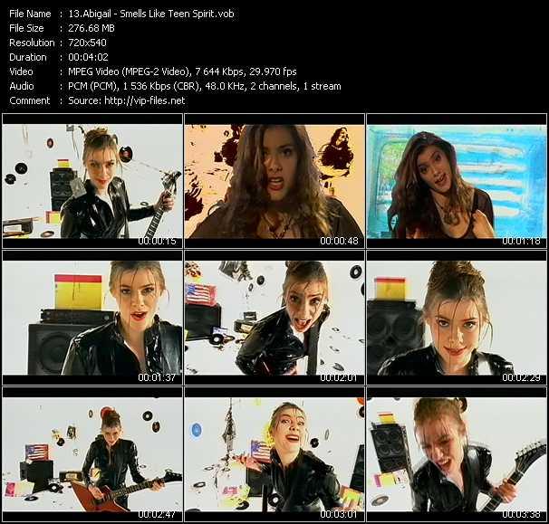 Abigail video screenshot