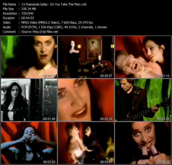 Diamanda Galas video screenshot