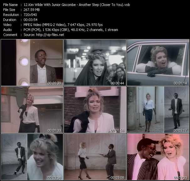 Kim Wilde With Junior Giscombe video screenshot