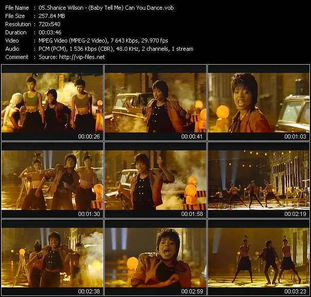 video (Baby Tell Me) Can You Dance screen