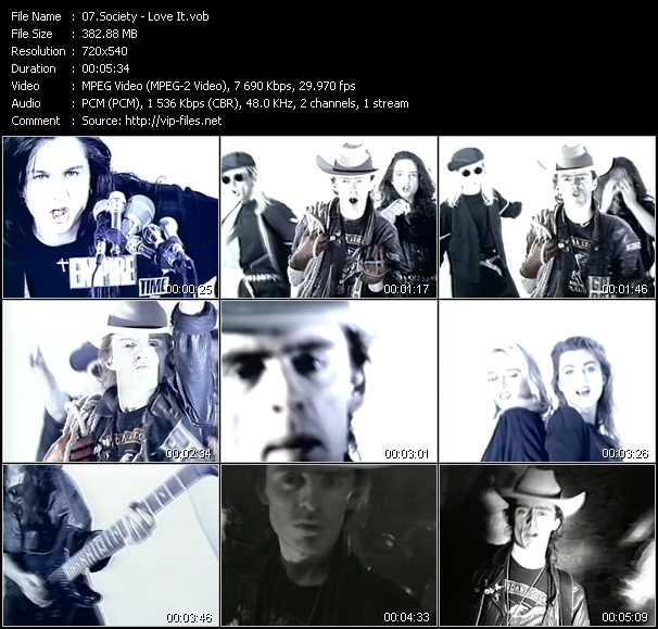 Society video screenshot