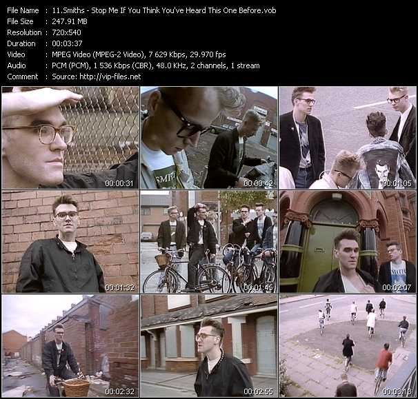 Smiths video screenshot