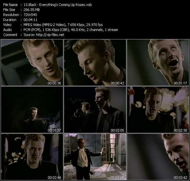 Black video screenshot