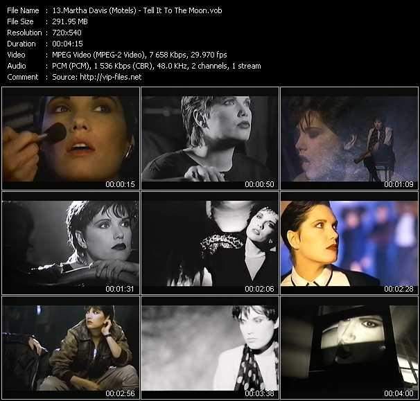 Martha Davis (Motels) video screenshot