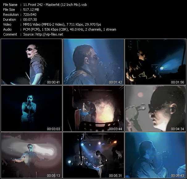 Front 242 video screenshot