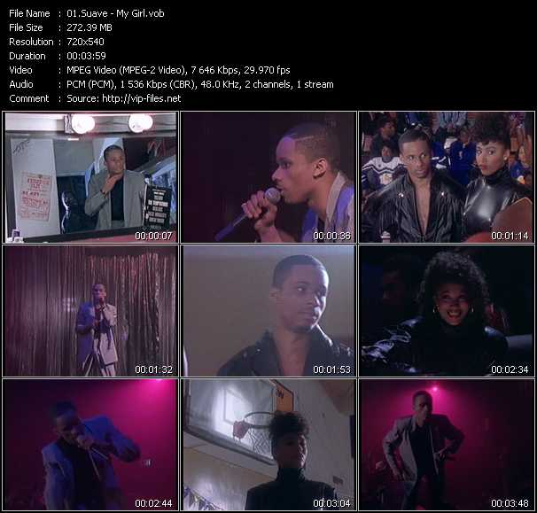Suave video screenshot