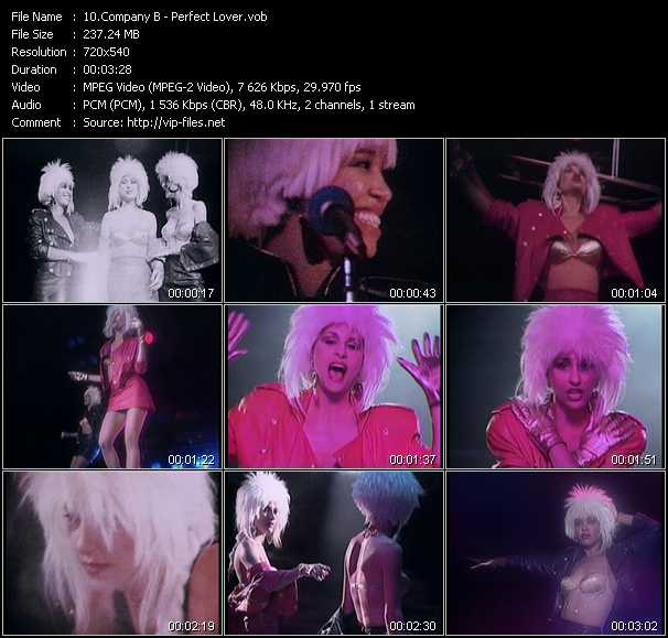 Company B video screenshot