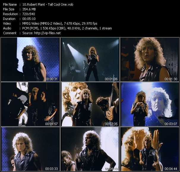 Robert Plant video screenshot