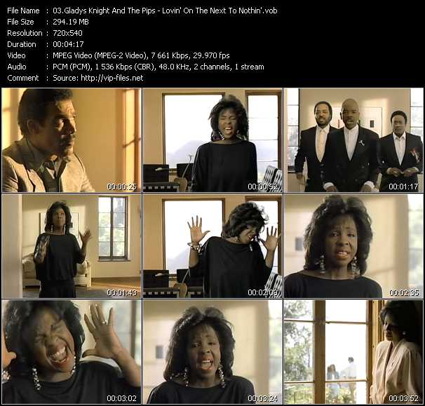 Gladys Knight And The Pips video screenshot