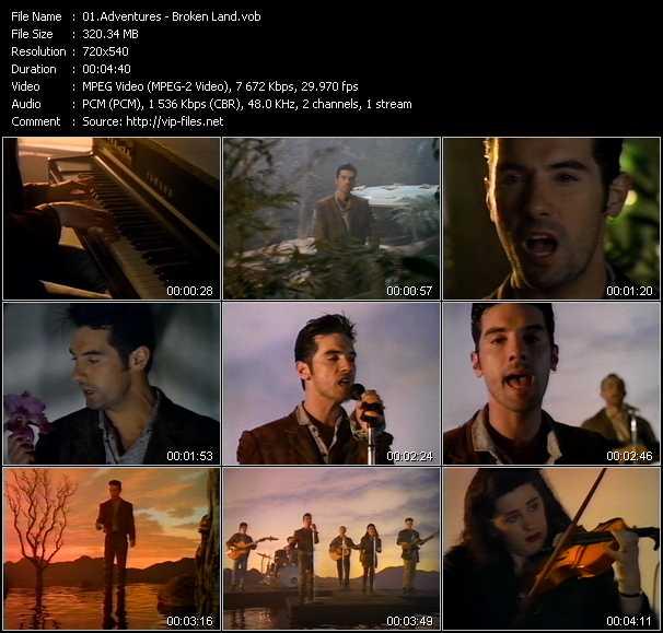 video Broken Land screen