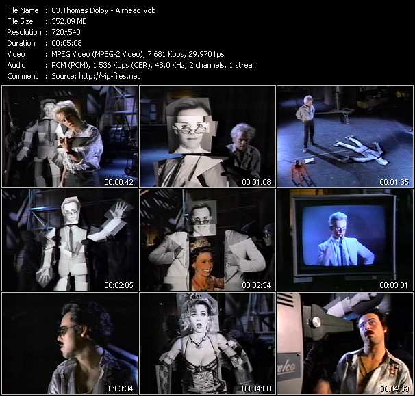 Thomas Dolby video screenshot