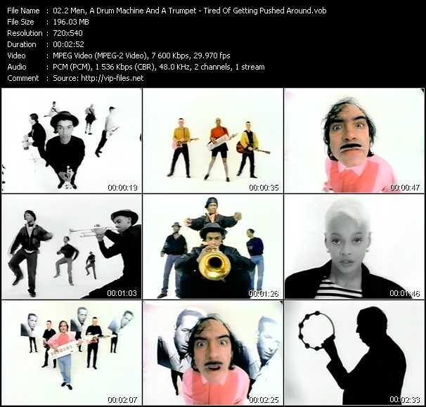 2 Men, A Drum Machine And A Trumpet video screenshot