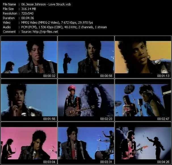 Jesse Johnson video screenshot