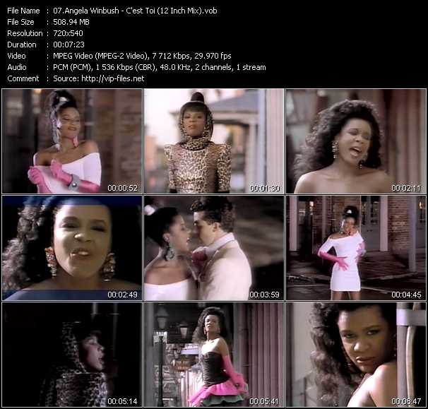 Angela Winbush video screenshot