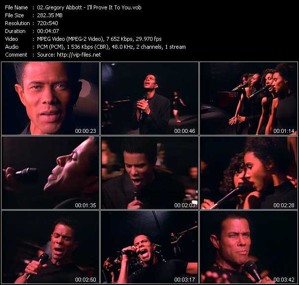 Gregory Abbott video screenshot