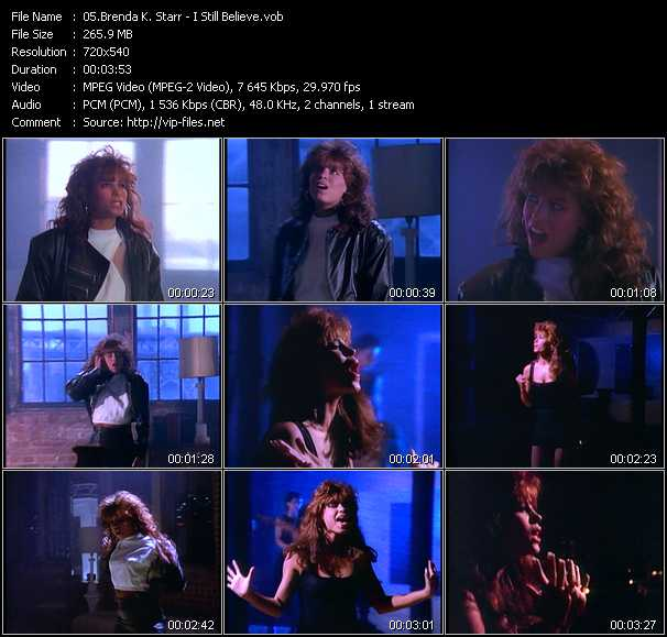 Brenda K. Starr video screenshot