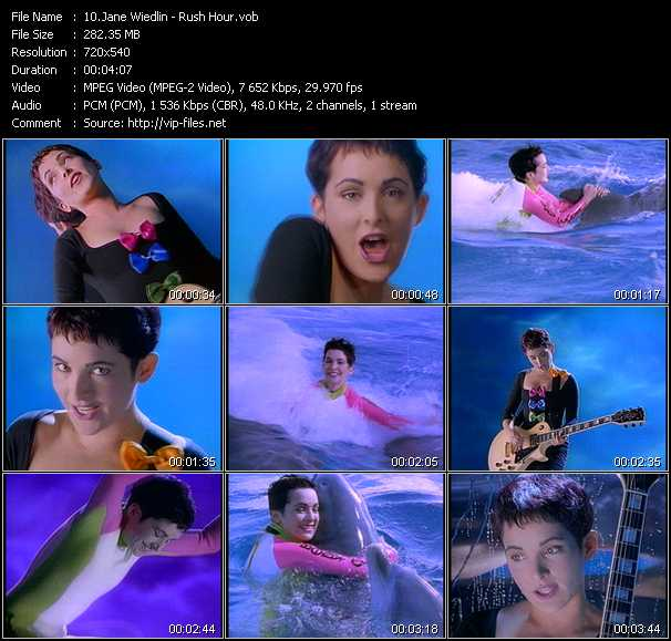 Jane Wiedlin video screenshot