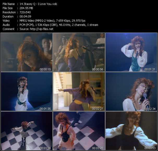 Stacey Q video screenshot