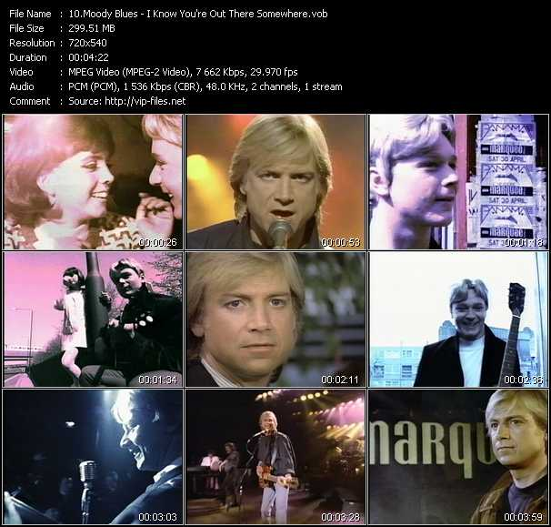 Moody Blues video screenshot