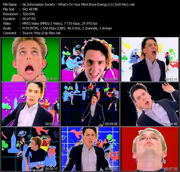 Information Society video screenshot
