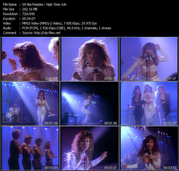 Nia Peeples video screenshot