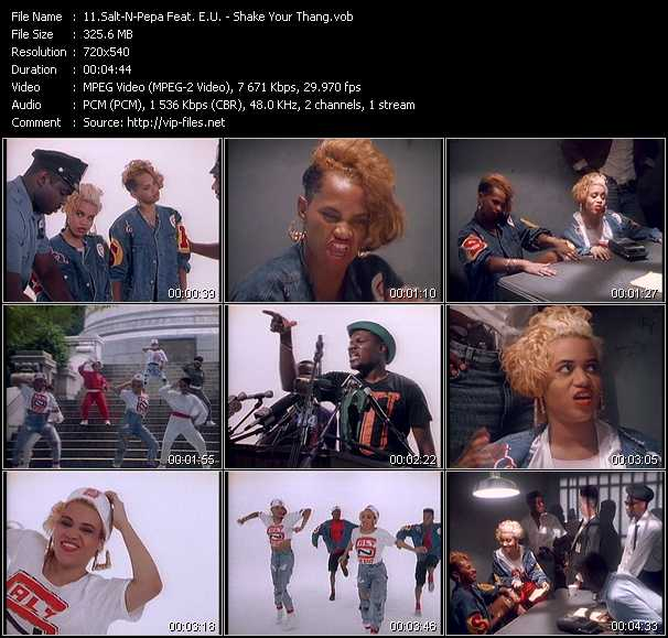 Salt-N-Pepa Feat. E.U. video screenshot
