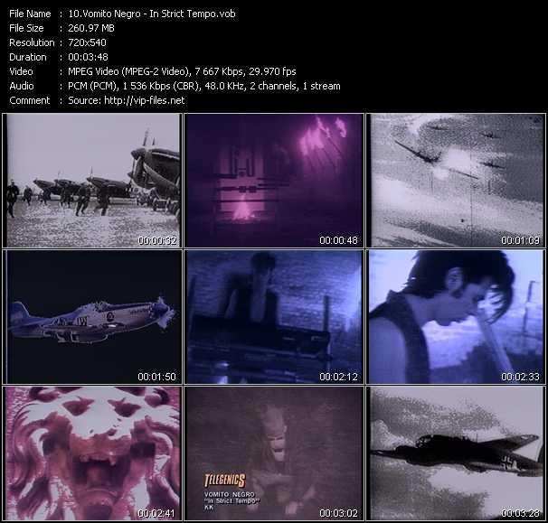 Vomito Negro video screenshot