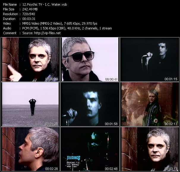 Psychic TV video screenshot