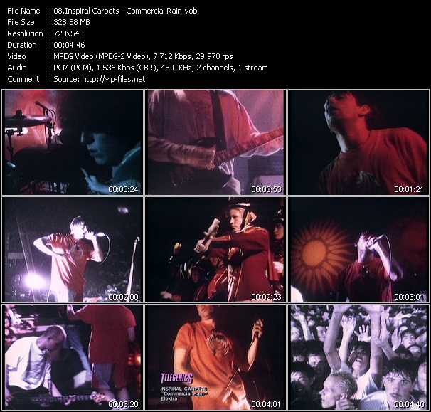 Inspiral Carpets video screenshot