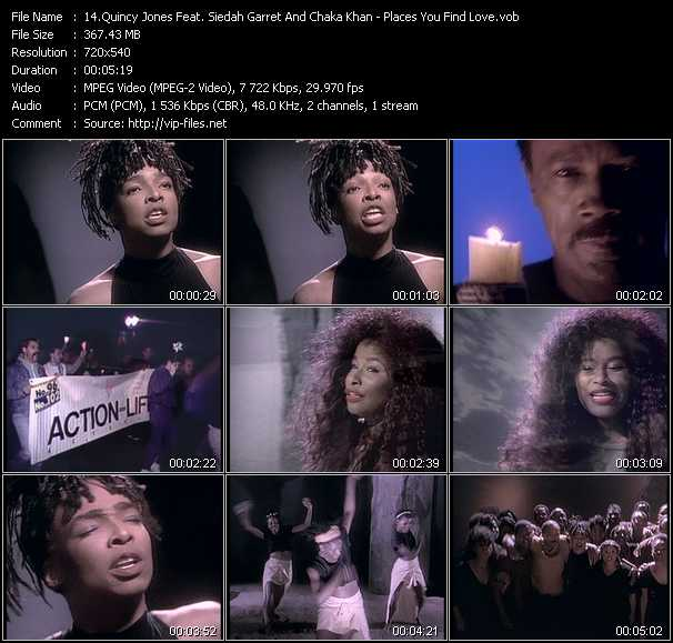Quincy Jones Feat. Siedah Garrett And Chaka Khan video screenshot