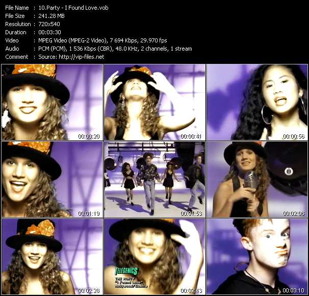 Party video screenshot