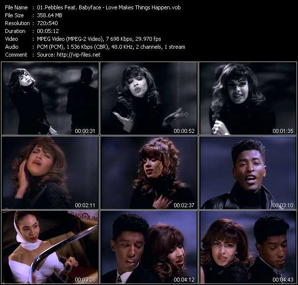 Pebbles Feat. Babyface video screenshot