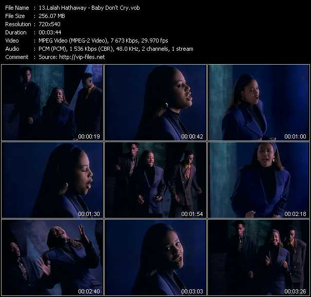 Lalah Hathaway video screenshot