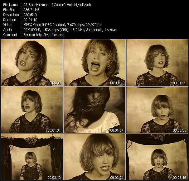 Sara Hickman video screenshot