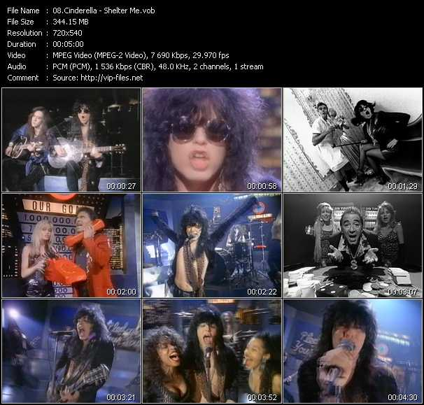 Cinderella video screenshot